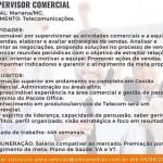 SUPERVISOR COMERCIAL (ENVIAR CV ATE 05/06/2020) – MARIANA/MG