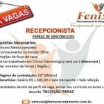 RECEPCIONISTA – FERRAZ DE VASCONCELOS