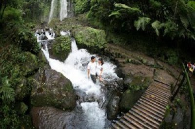 Jumog waterfall Karanganyar Indonesia