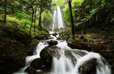 Beautiful Jumog waterfall Solo Indonesia