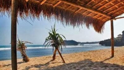 Beautiful Sundak Beach Indonesia