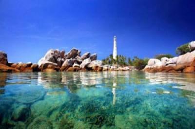 Amazing Lengkuas Island Indonesia