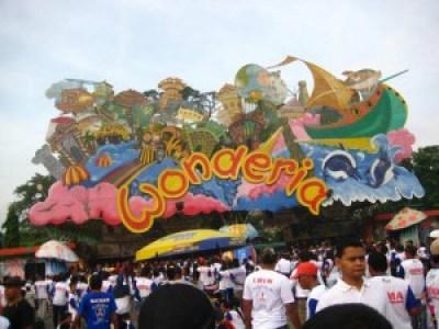 Wonderia park Semarang Indonesia