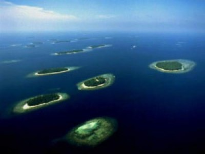 Beautiful 1000 Island Indonesia
