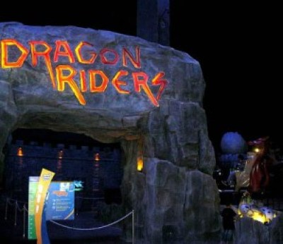 Dragon Rider Trans Studio Bandung