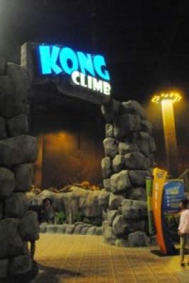Kong Climb Trans Studio Bandung