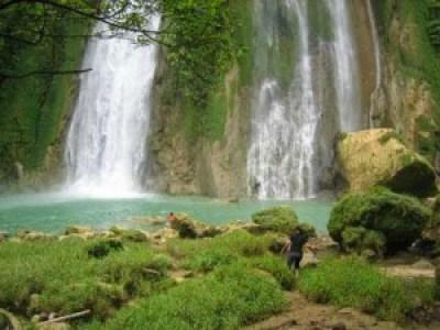 Beautiful Cicurug Waterfall Indonesia