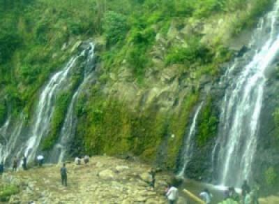 Air terjun pengantin di Ngawi