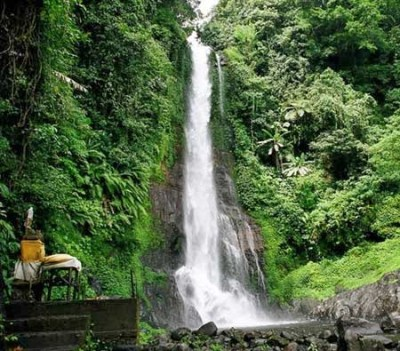 Beautiful Gitgit Waterfall Bali - Indonesia