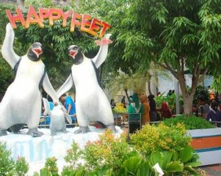Wahana Happy Feet Dufan