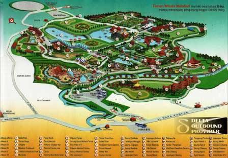 Taman Wisata Matahari Map