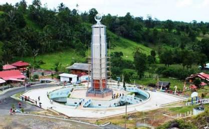 Monumen bukit kasih Manado