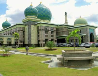 Masjid An-nur Pekanbaru Riau