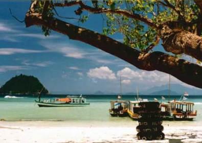 Pantai Pasir Putih Bandar Lampung