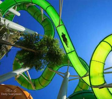 Waterpark Bali green Vipers