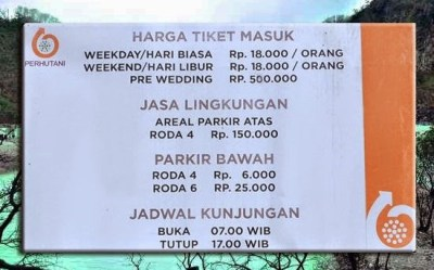 Harga Tiket Masuk Ke Kawah Putih Ciwidey Bandung