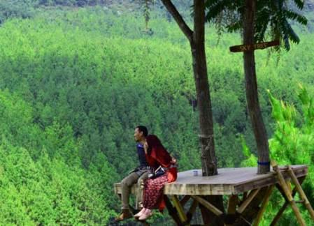 Pemandangan The Lodge Lembang