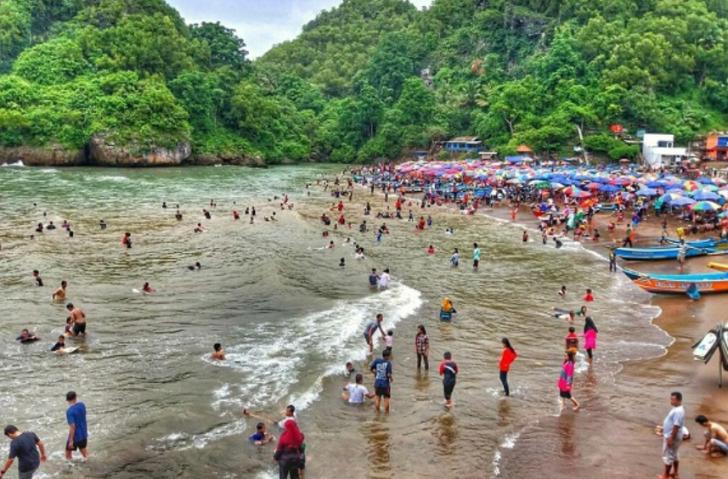 Destinasi Wisata Pantai Baron Yogyakarta Tempat Wisata Terbaik Di Indonesia
