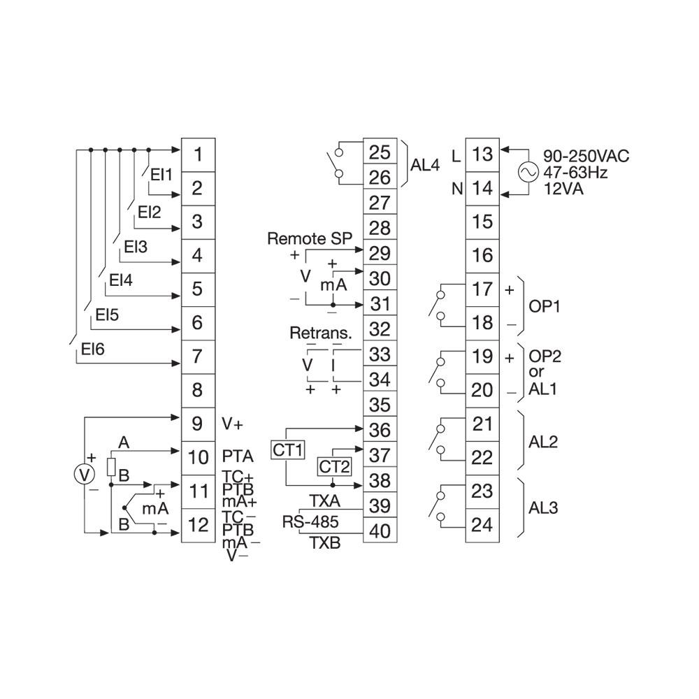 Model TEC-8400 Temperature Controller