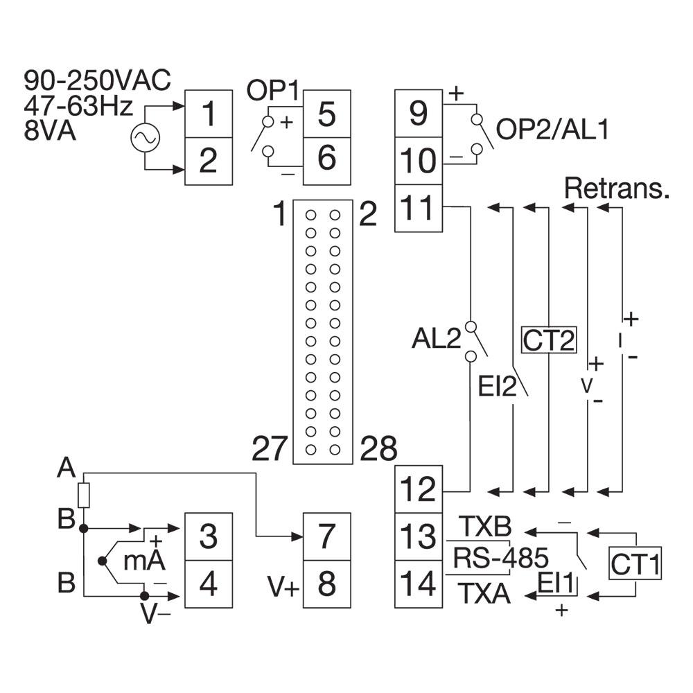 Model TEC-6400 Temperature Controller