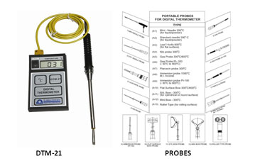 Digital Portable Thermometer, Microcontroller Based Manual