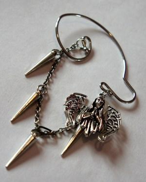 Hope and faith earrings