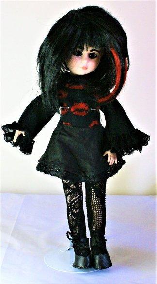 Gothic Lolita lips dress