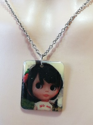 Blythe doll pendant necklace 1