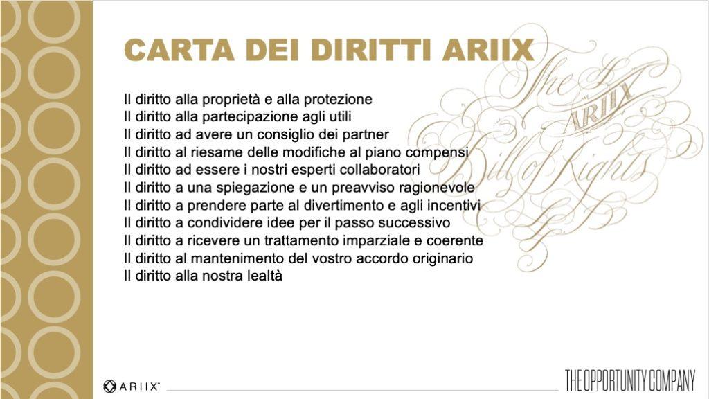 Ariix l'azienda delle opportunità