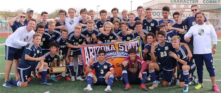 Boys Soccer Desert Vista