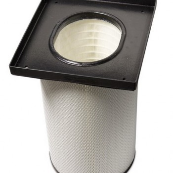 Oval canister HEPA filter