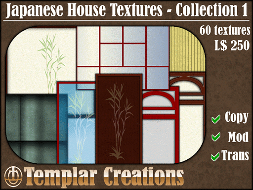 Second Life « Templar Creations - Textures for Virtual Worlds