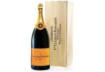 Veuve Clicquot Champagne (Nebuchadnezzar 15L) in Wood box NV
