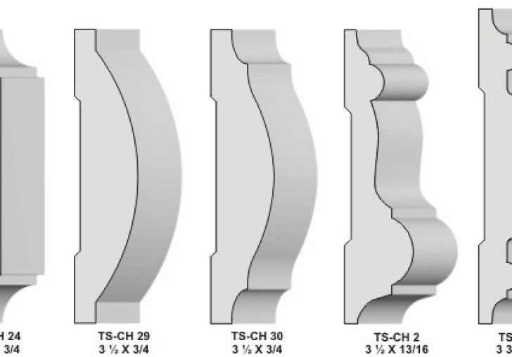 Chair Rail Moulding Profiles