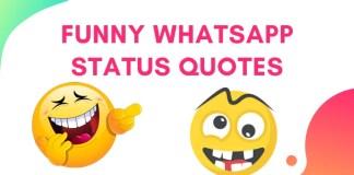 Funny Whatsapp Status Quotes