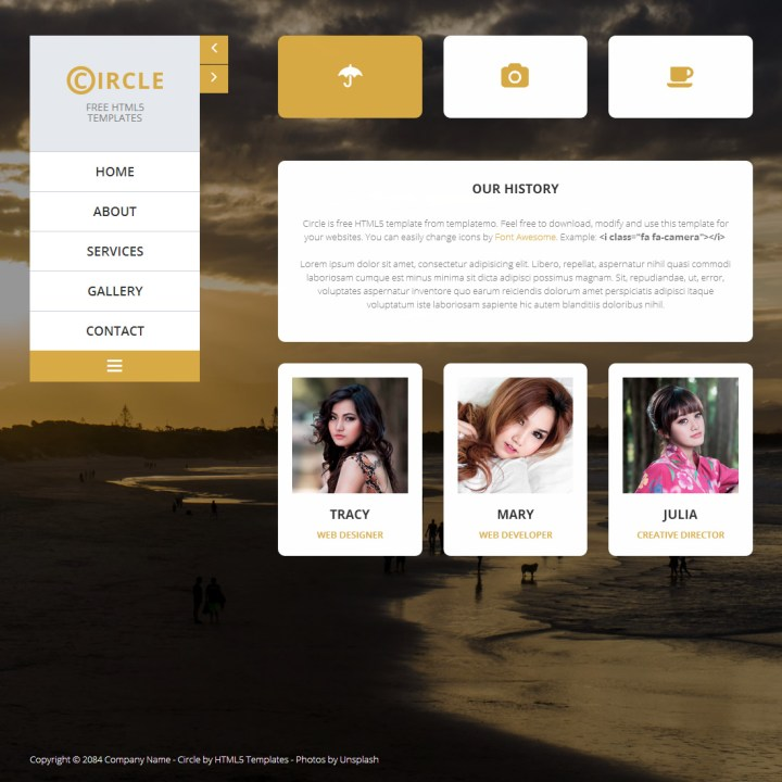 Gallery Templates Html5 | secondtofirst.com