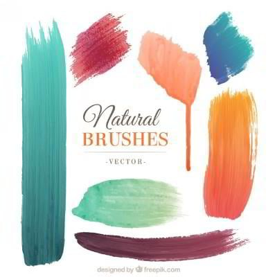 85 watercolor freebies for