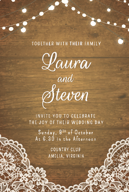 fabulous free wedding invitation