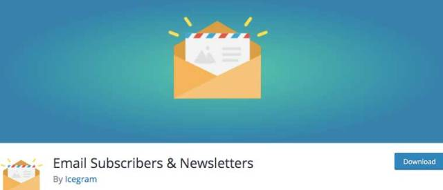 Email Subscribers & Newsletters.