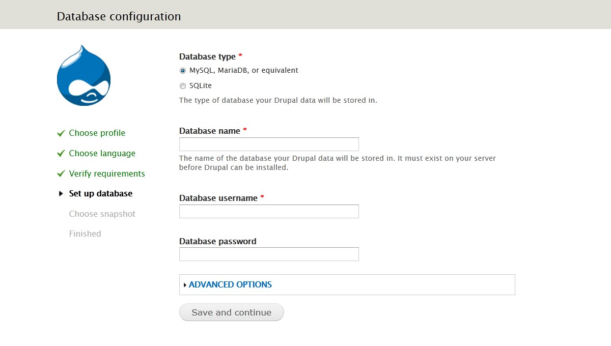 Drupal 7.x. How to install the engine and template using