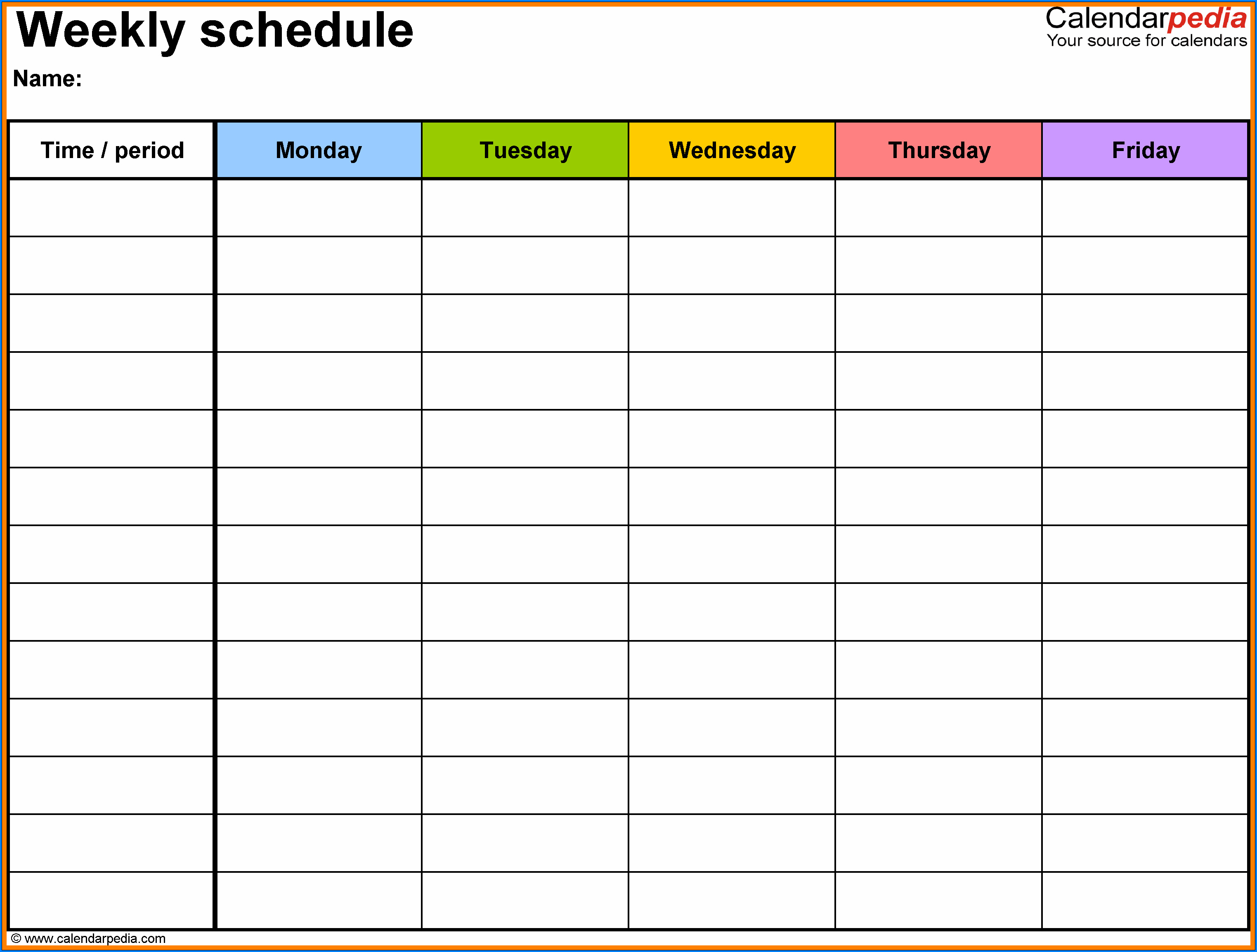 Free Printable Daily Time Tracking Spreadsheet Template