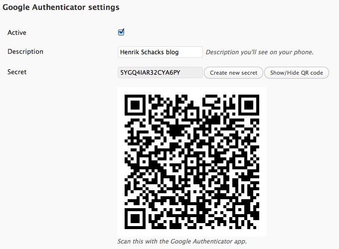 How To Enable Google Authenticator in WordPress Blog?