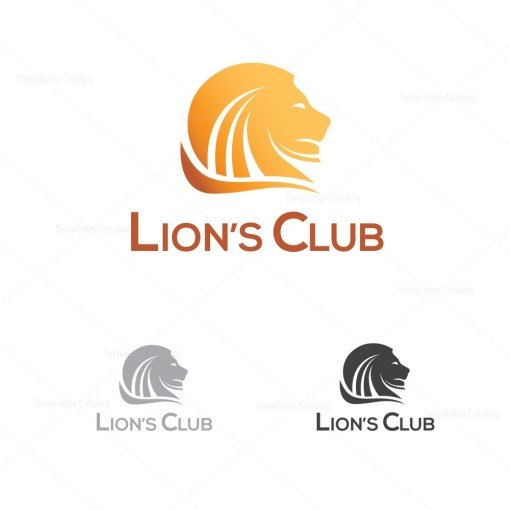 Lions Logo Template