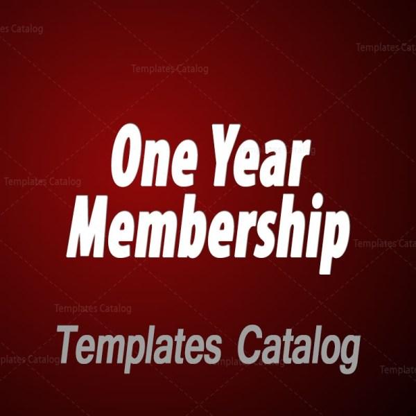 One Year Membership