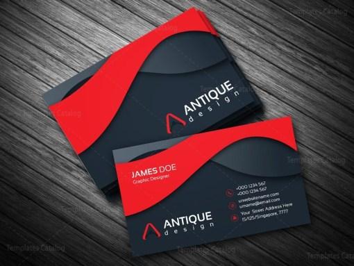 Multicolor Business Card Template