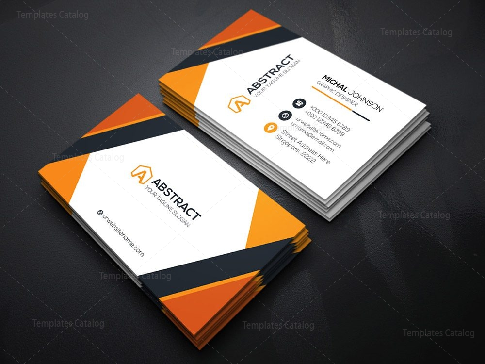 Classy Business Card Template 000122