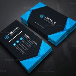 Classy Company Business Card Template