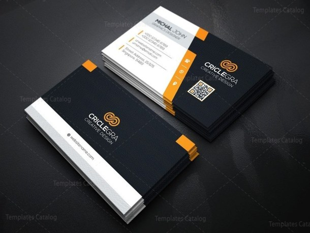 Company Business Card Design Template
