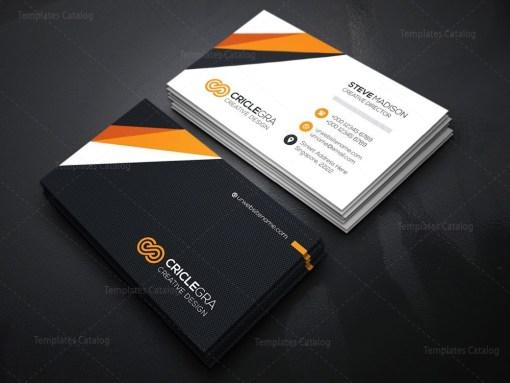 Creative Director Business Card Template