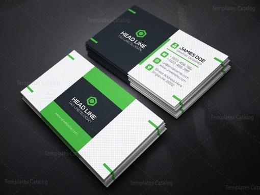 Fancy Business Card Template